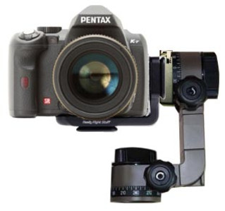 New kds + Really Right Stuff L-Plate for Pentax