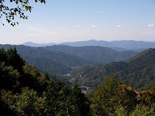 木曽見茶屋からの眺望