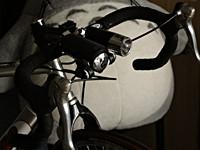 キャットアイ自転車用ヘッドライト2連灯(HL-EL540&HL-EL510)