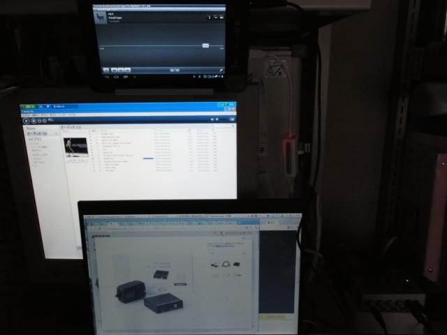 タブレットPC&デスクトップPC&ラップトップPC