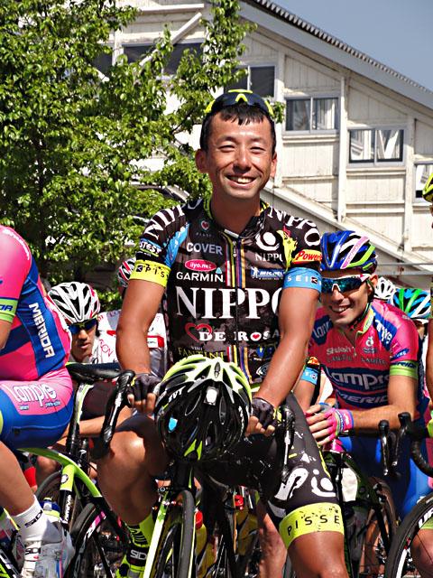 福島晋一選手2013年TOJ南信州ステージ