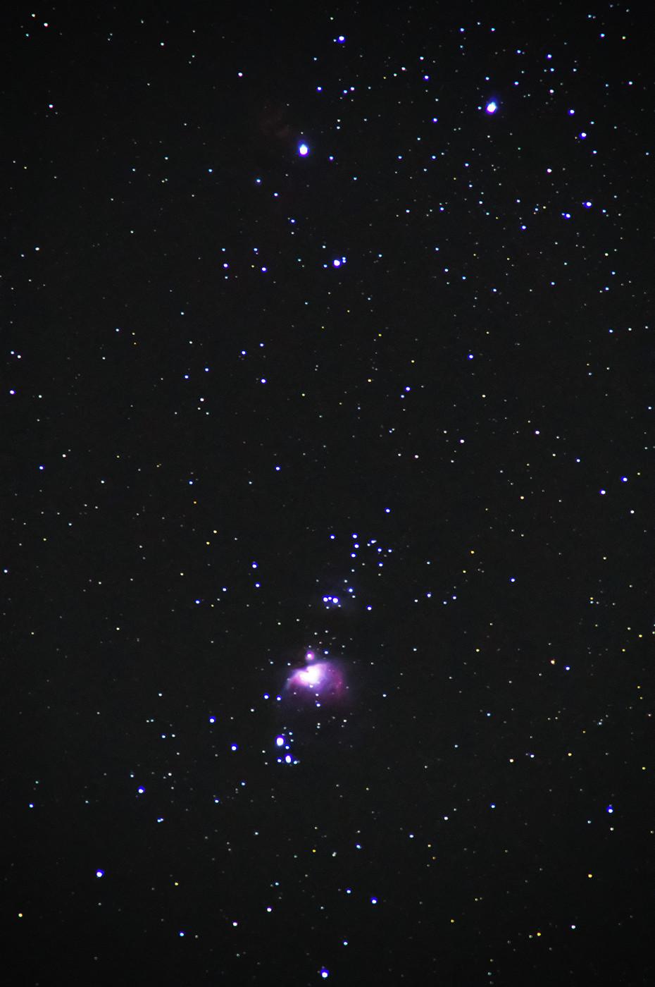 オリオン大星雲 M42 2013年12月27日