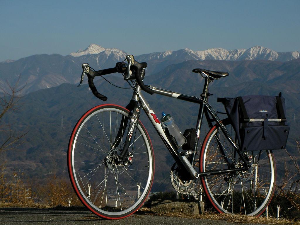 "K2 Bike ""ENEMY""と南アルプス"