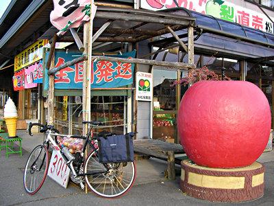 南信州松川町でりんごを買う