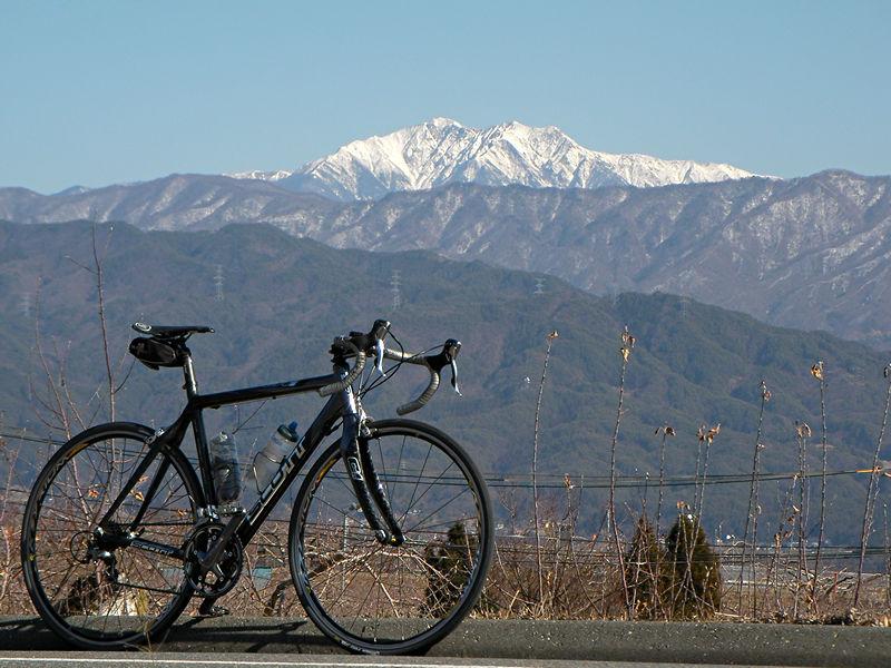 千丈ヶ岳とSCOTT CR1