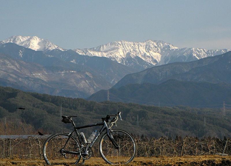 荒川岳・赤石岳とロードバイク