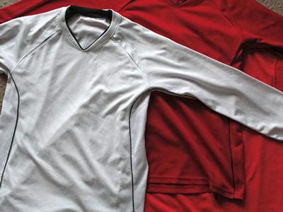 ユニクロ ドライメッシュTシャツ(長袖)