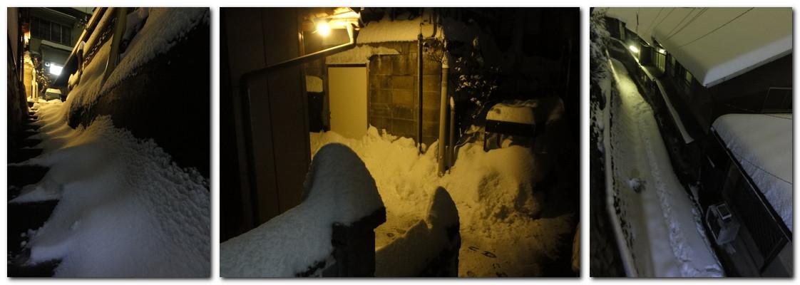 2014年2月8日19時までの積雪31cm