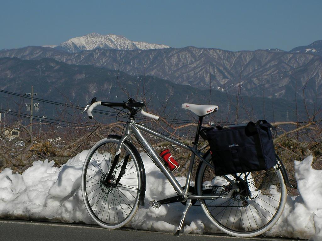 2014年2月23日 千丈ヶ岳と自転車