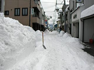 2014年2月15日午前9時積雪81センチメートル