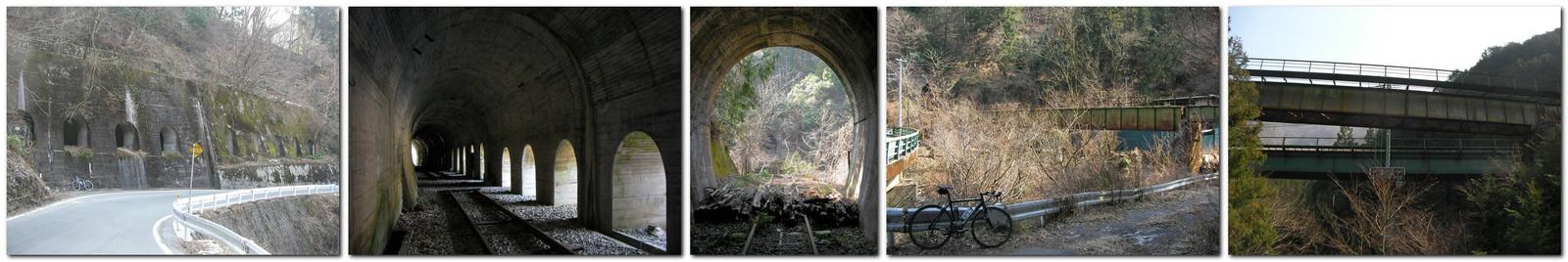 2014年3月12日「国道418号線沿いの飯田線旧線」