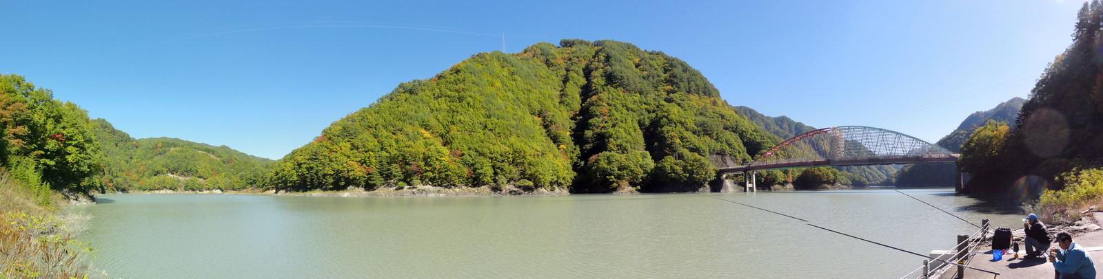 小渋峡谷の秋
