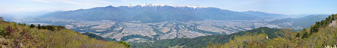 南信州「陣馬形山」からの眺望 2015年5月11日