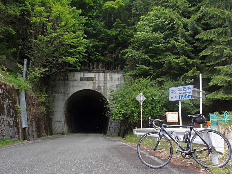 長野県道251号線赤石峠