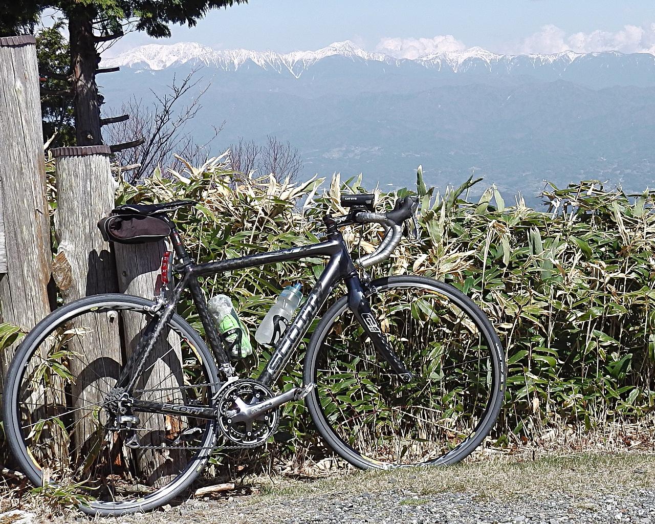 阿智村富士見台高原からの眺望